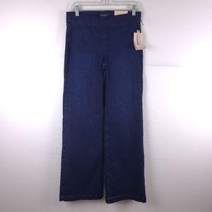 NWT NYDJ Wide Leg Dark Wash Jeans Size 2